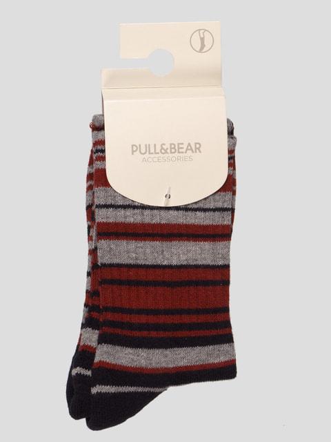 Шкарпетки в смужку Pull&Bear 4646917