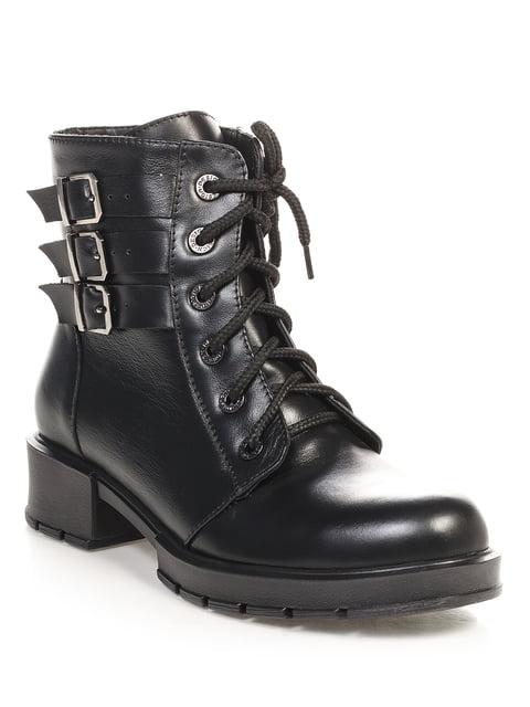 Ботинки черные Franzini 4691082