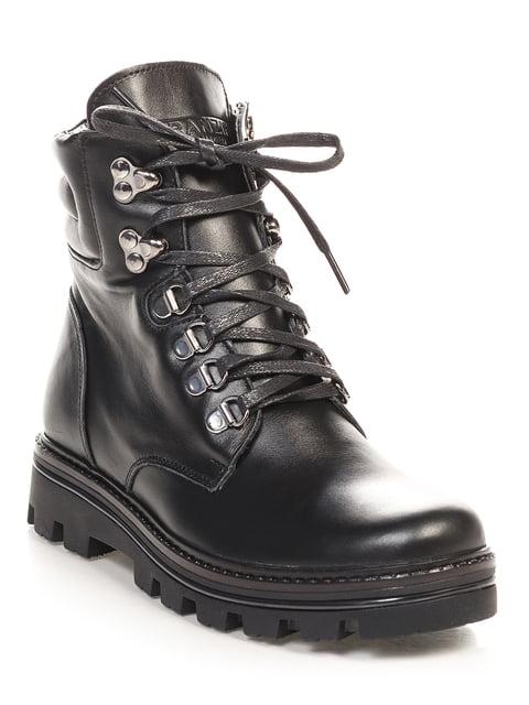 Ботинки черные Franzini 4691081
