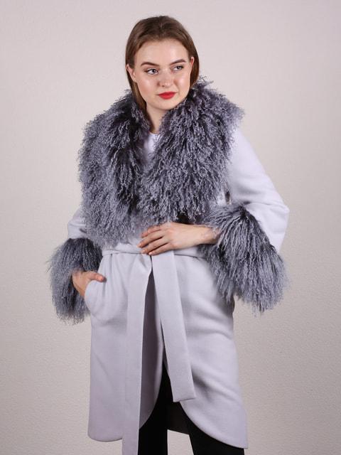 Пальто серое Artua Collection 4697620