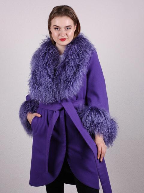 Пальто сиреневое Artua Collection 4697621