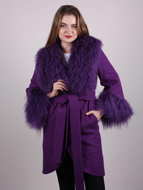 Пальто фиолетовое Artua Collection 4697622