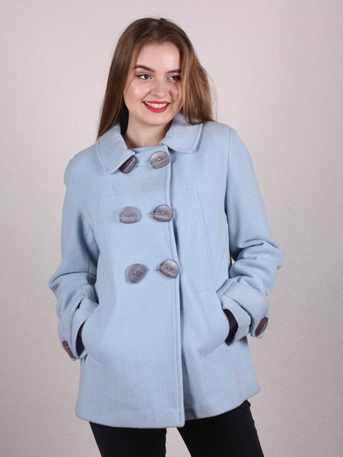 Полупальто голубое Artua Collection 4697657
