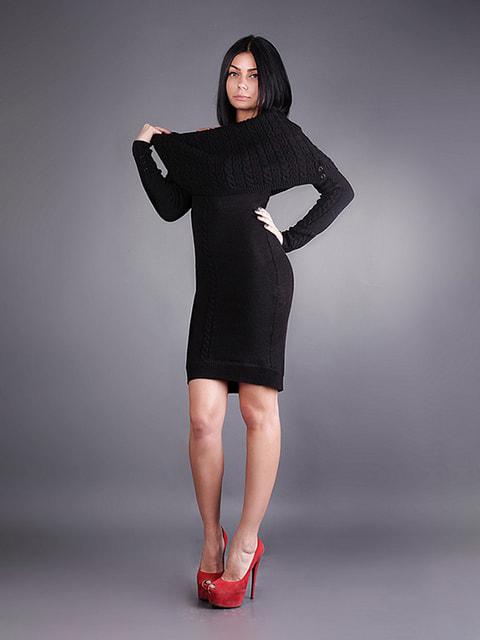 Платье черное Sewel 4681426