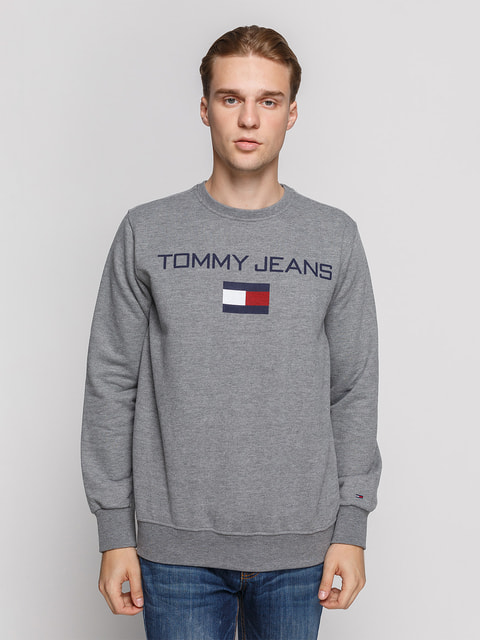 Свитшот темно-серый Tommy Hilfiger 4694807