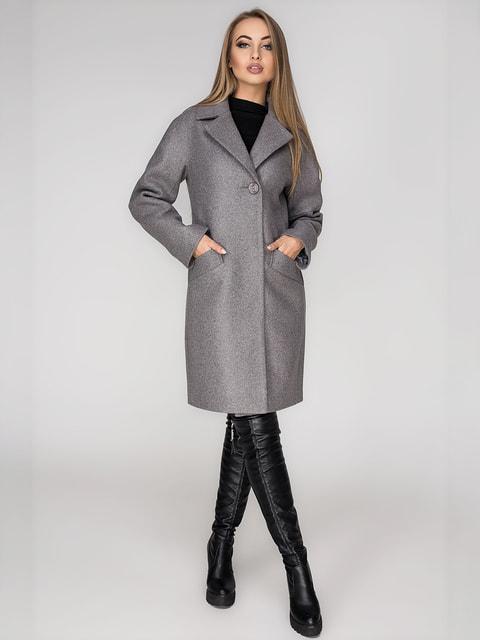 Пальто сіре Leo Pride 4702161