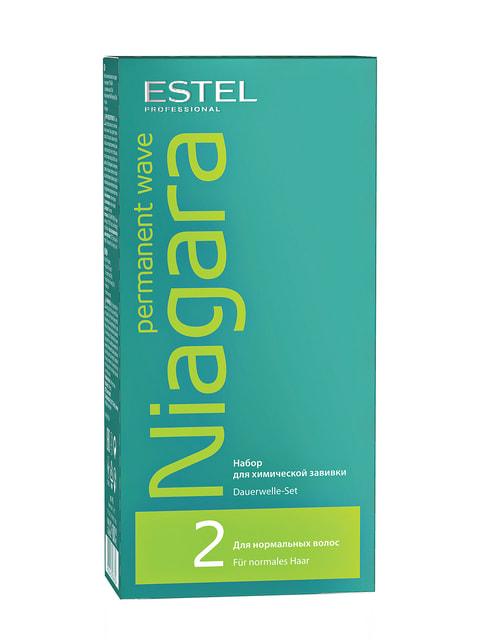 Набор для химической завивки Niagara для нормальных волос (200 мл) ESTEL Professional 4693363