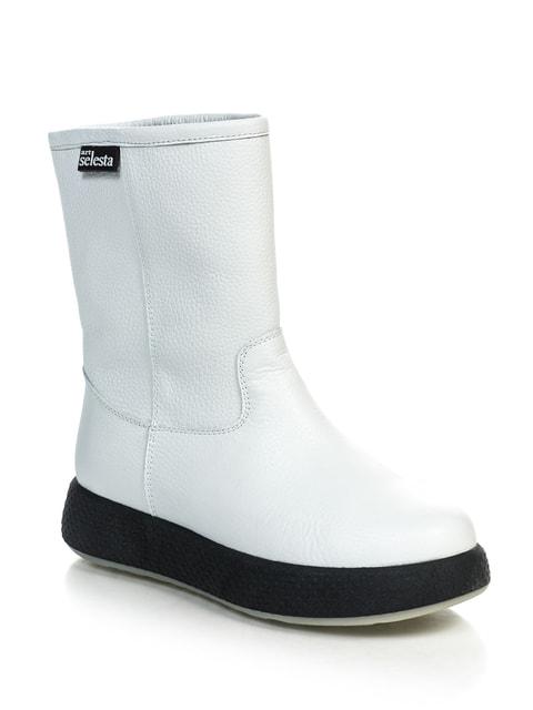 Полусапожки белые NUBE 4697355