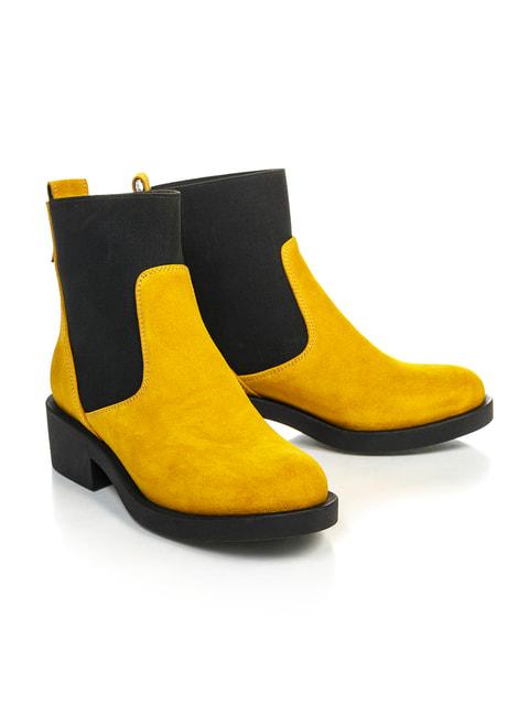 Черевики жовто-чорні NUBE 4699870