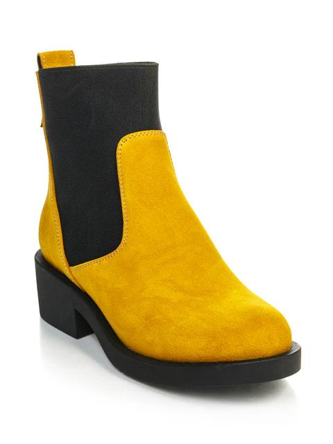 Ботинки желто-черные NUBE 4699870