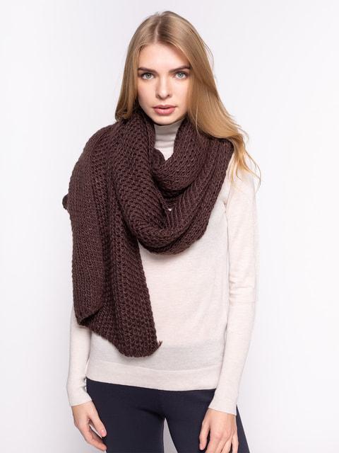Шарф коричневий Zara 3599613