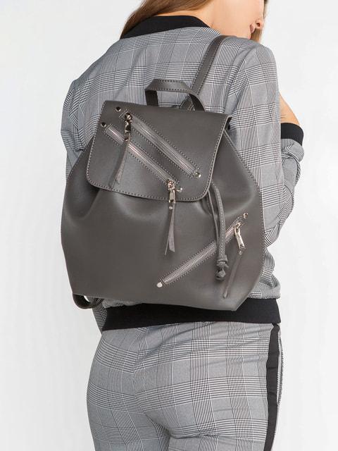 Рюкзак серый Gepur 4616610