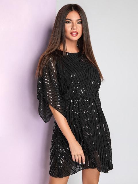 Платье черное Gepur 4645858