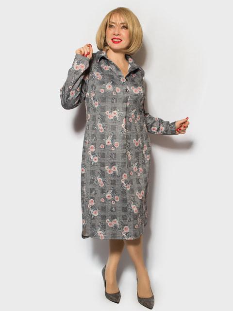 Платье в цветочный принт LibeAmore 4706826