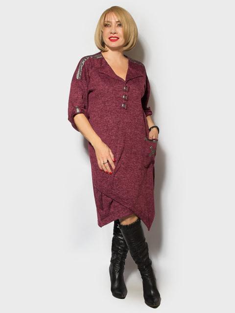 Платье бордовое LibeAmore 4706851