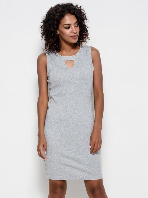Платье серое Magnet 4581023