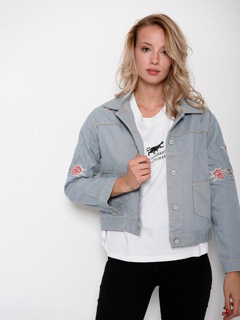 Куртка голубая Magnet 4621105