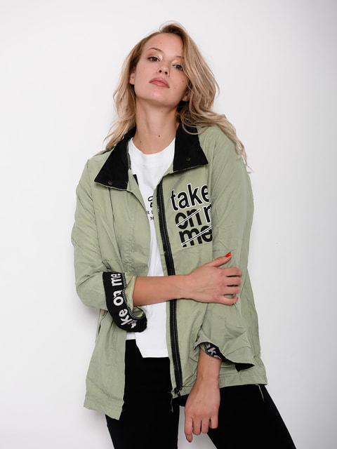 Куртка салатова Magnet 4678429