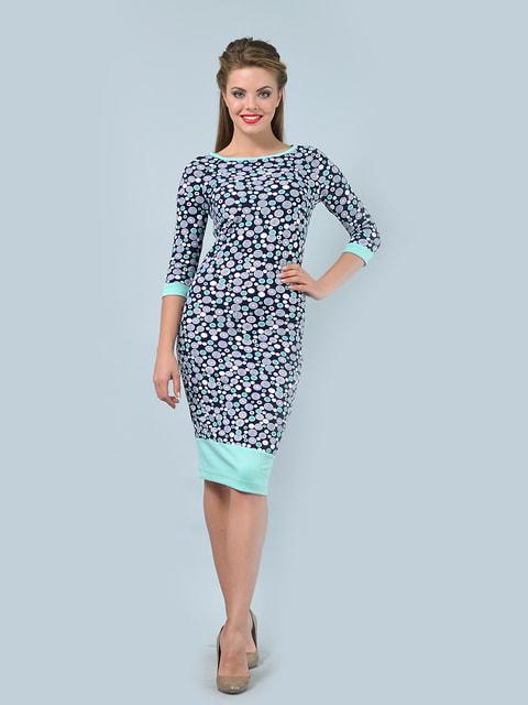 Платье в принт LILA KASS 4697661
