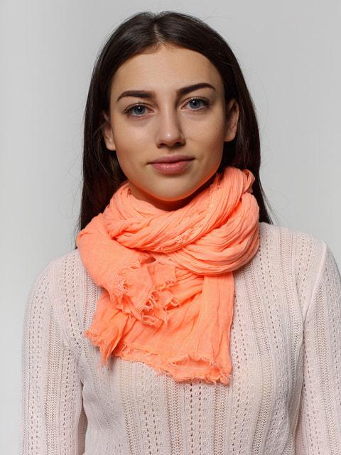 Шарф персикового кольору Bershka 2713557