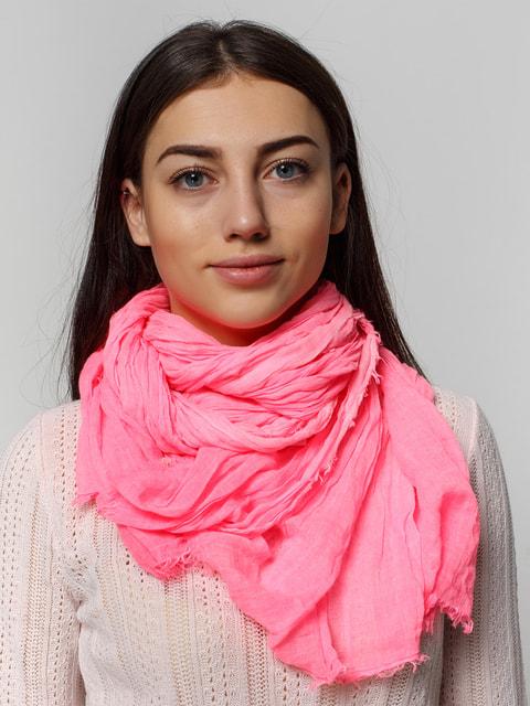 Шарф рожевий Bershka 2732549