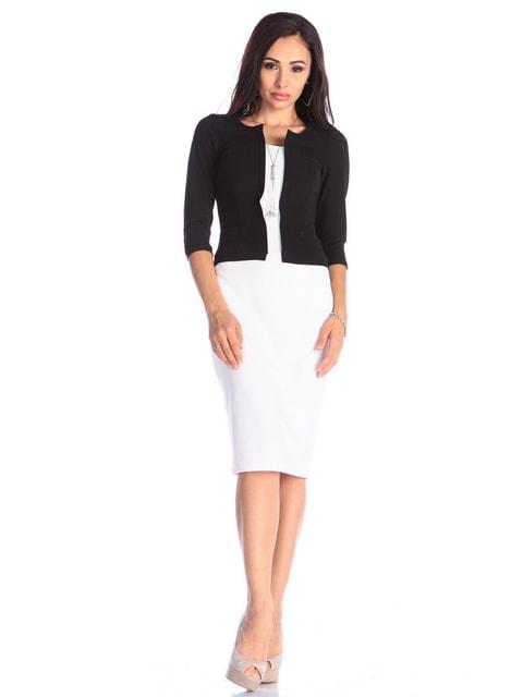 Сукня чорно-молочного кольору Maurini 4645099