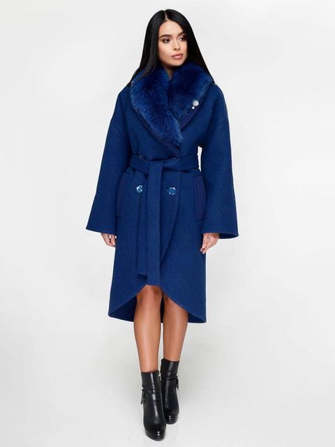 Пальто синее Favoritti 4711656