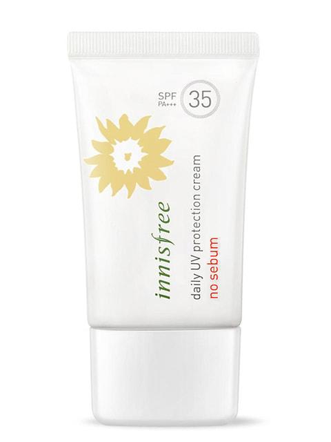 Сонцезахисний крем Daily UV Protection Cream No Sebum SPF35 PA (50 мл) INNISFREE 4712284