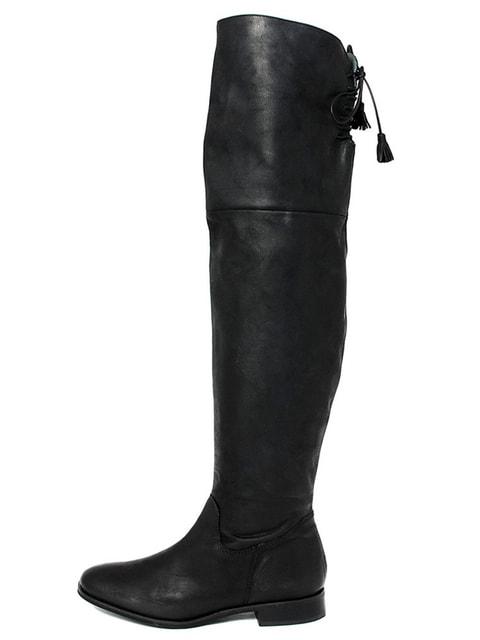 Ботфорти чорні EJE 4714034