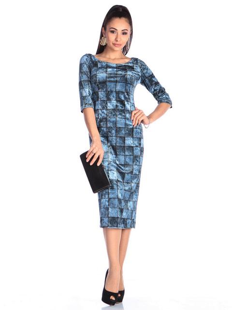 Сукня в принт Laura Bettini 4712482