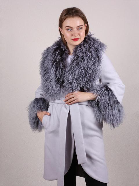 Пальто светло-серое Jakko 4715244