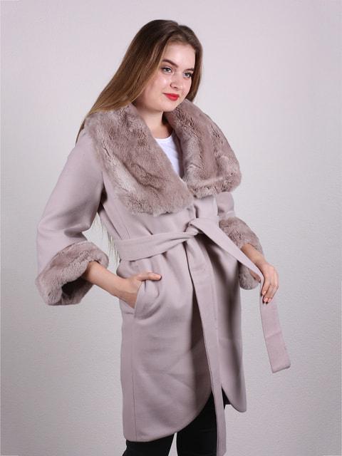 Пальто кремового цвета Jakko 4715249