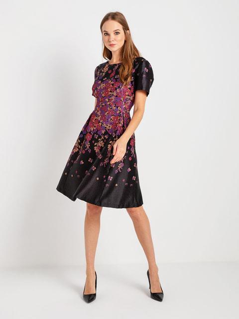 Сукня чорна в квітковий принт BGN 4715180