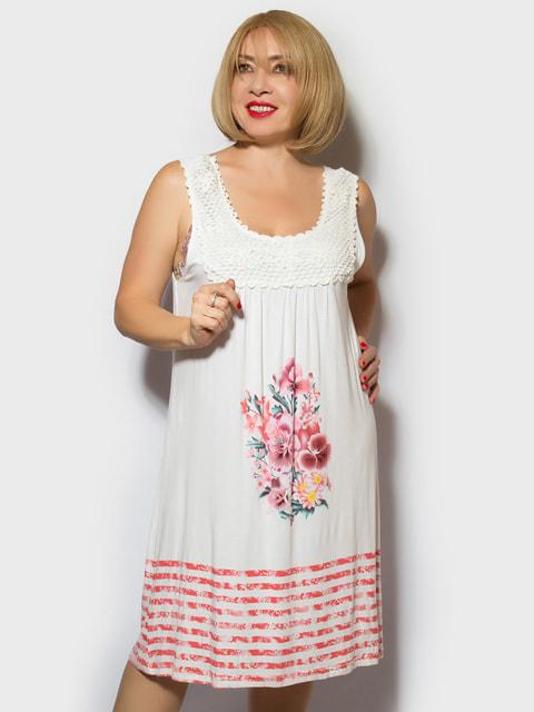 Рубашка ночная с цветочным принтом LibeAmore 4718031