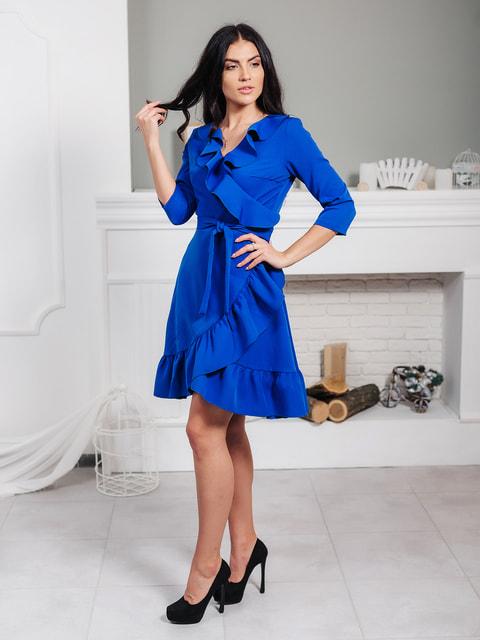 Платье цвета электрик VSV 4718928