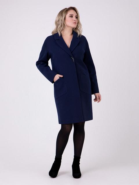 Пальто темно-синє Almatti 4717955