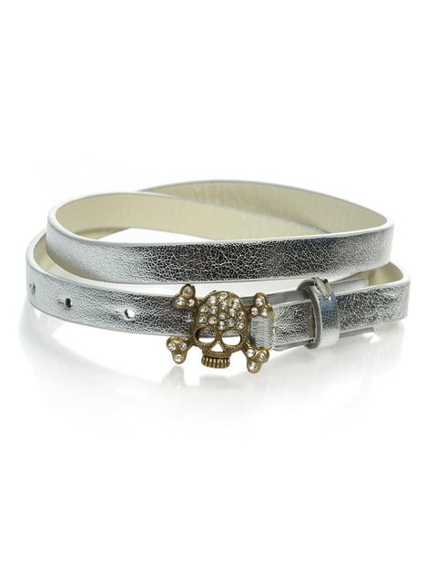 Ремінь сріблястий Alcott 4636049