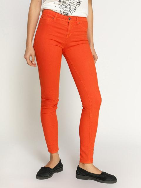 Брюки оранжевые Pull&Bear 2695174