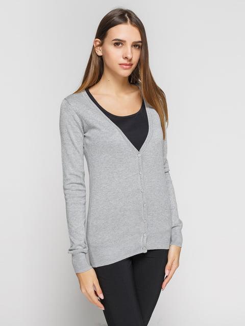Кардиган серый Alcott 3203854