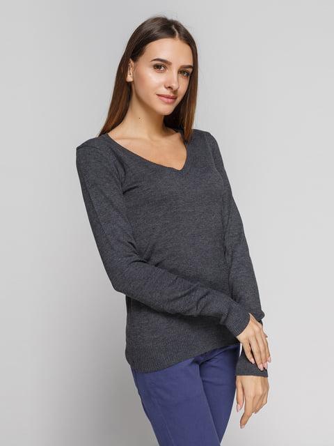 Пуловер сірий Alcott 3201793