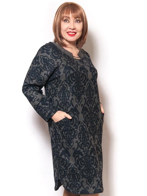 Платье цвета асфальта LibeAmore 4724294