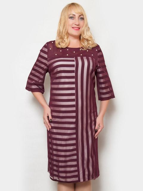Сукня кольору марсала LibeAmore 4724306