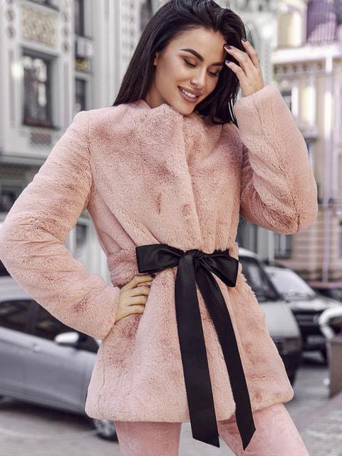 Кожушок рожевий Gepur 4726450