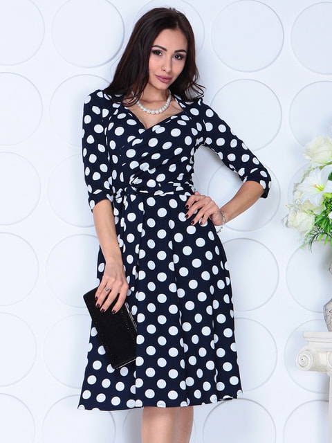 Сукня в горох Laura Bettini 4723717