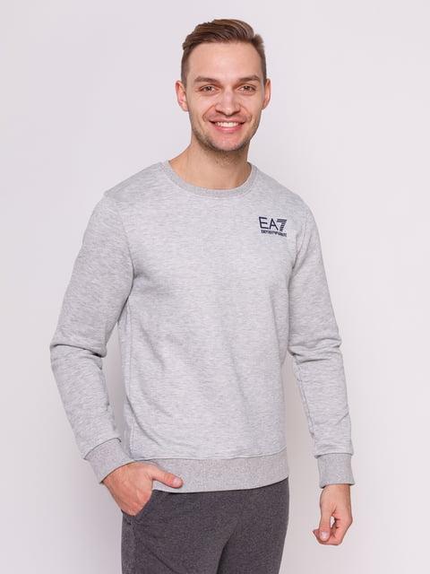 Свитшот серый Emporio Armani 4722128