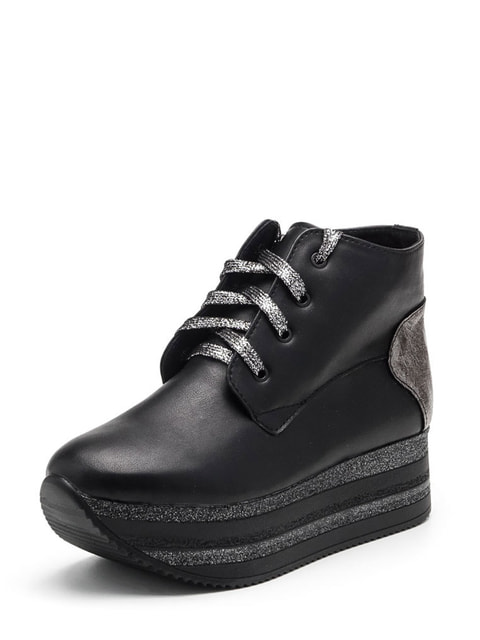Ботинки черные Tops 4732694