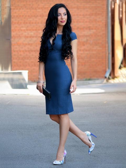 Сукня темно-синя Victoria Loks 3810048