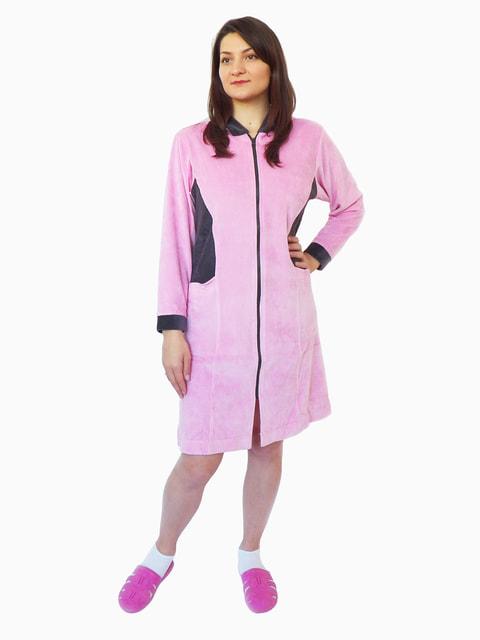 Халат розовый Elines 4427105