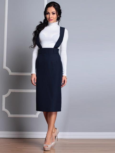 Сарафан черно-синего цвета Dioni 4619796