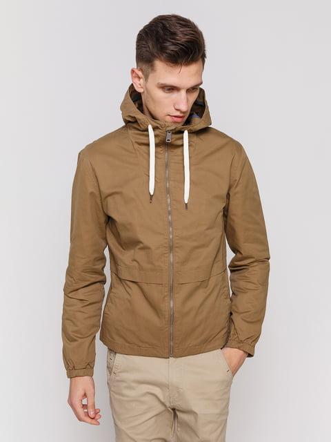 Куртка коричнева Springfield 3966790